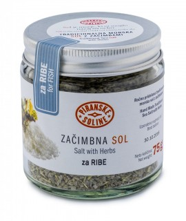 Salt with Herbs for Fish 75 g