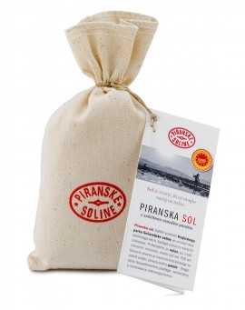 Piran Salt with Protected Designation of Origin 250 g