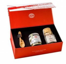 Salt and Mediterranean Herbs Gift Set