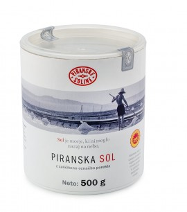 Piran Salt with Protected Designation of Origin 500 g