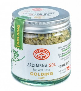 Salt with Herbs with Golding Hops 75 g